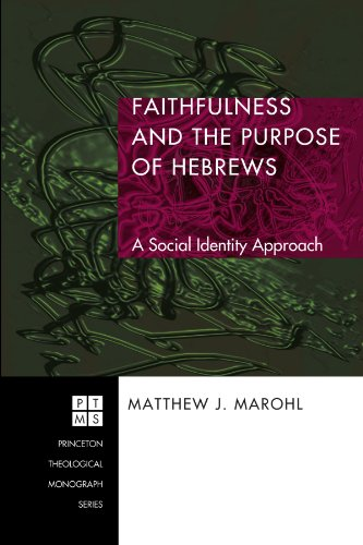 Faithfulness and the Purpose of Hebrews: A Social Identity Approach (Princeton Theological Monograph)