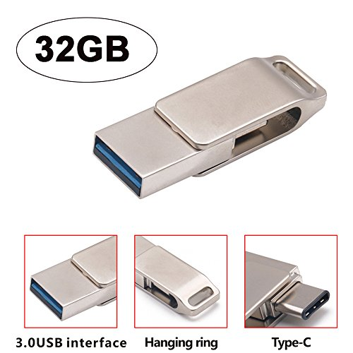 Euone  Valentine Clearance Sale , USB 3.0 32GB Flash Drive Memory Stick Storage Pen Disk Digital Type-C & USB Dual-use U disk ()