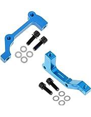 Baoblaze Pack de 2 Piezas de Adaptador Soporte de Freno de Disco de 203 Mm Metálico