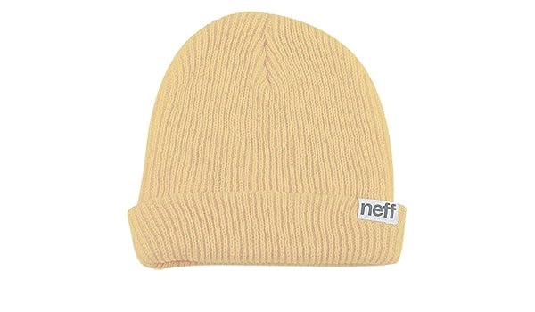 Amazon.com  Neff Fold Men s Beanie Fashion Hat - Khaki   One Size   Automotive 1913f9e9d4d