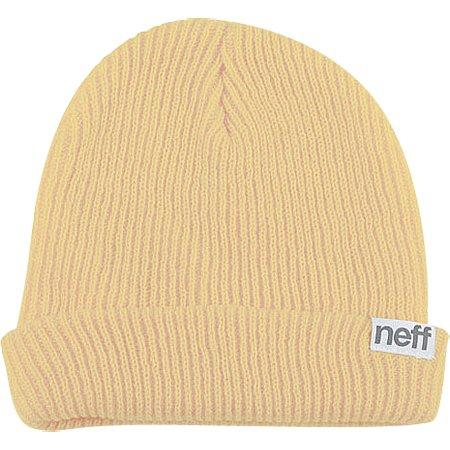 Neff Fold Men's Beanie Fashion Hat - Khaki / One - Size Biggest Hat