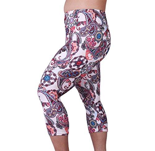 Zerdocean Womens Lightweight Printed Leggings