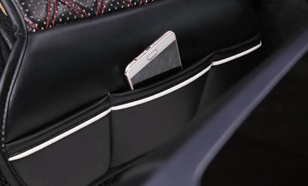 D/&F Sedile Riscaldato A Caldo 12V Auto Posto Riscaldato Inverter Invernale Coprire Marrone Funzione Di Protezione A Temperatura Costante