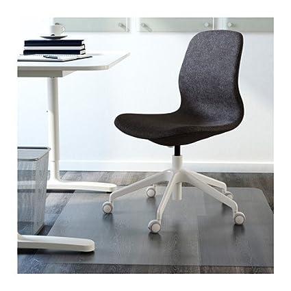 Amazon.com: IKEA silla giratoria, gunnared gris oscuro ...