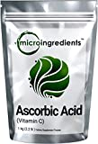 Micro Ingredients Pure Ascorbic Acid (Vitamin C) Powder, 1 Kg, USP Pharmaceutical Grade
