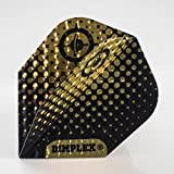 5 x SETS DIMPLEX BLACK GOLD GYRO DART FLIGHTS STANDARD by PerfectDarts