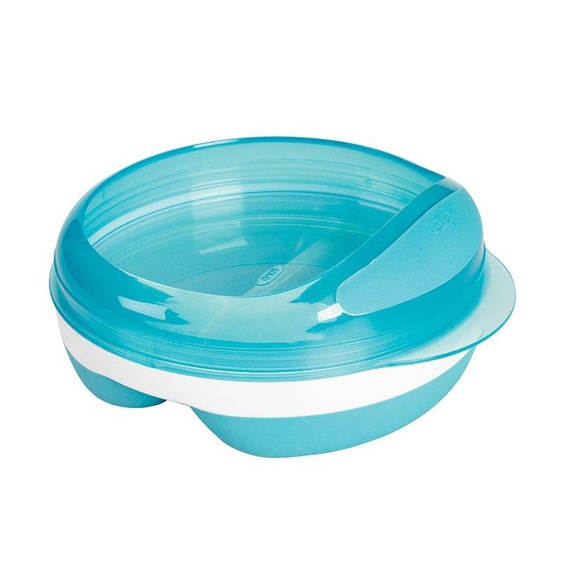 Oxo Tot 6113900 Divided Feeding Dish (Green)