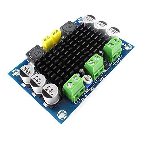 HW-576 Mono 100W Digital Amplifier Board TPA3116D2 12V-26V Power Amp DIY Tool/—Multicolor