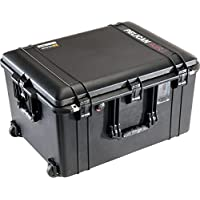 CVPKG Presents - Black Pelican 1637 With Foam Air case. Comes with wheels.