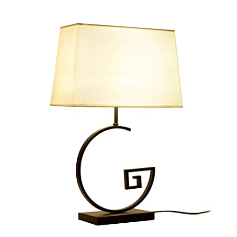 Lights & Lighting Modern Chinese Style Wood Retro Table Lamp Pastoral Fabric Decoration Bedroom Study Bedside Work Light Led Table Lamps