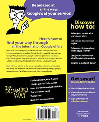 Google Search & Rescue For Dummies: Brad Hill: 9780764599309