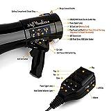 MyMealivos Megaphone with Siren Bullhorn 50 Watt