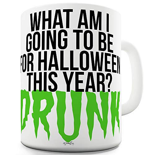 Drunk For Halloween 15 OZ Funny Mug