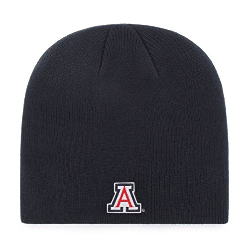 OTS NCAA Arizona Wildcats Beanie Knit Cap, Navy, One Size