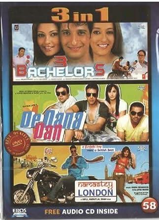 3 In One Dvd 3 Bachelors De Dana Dan Namastey London By
