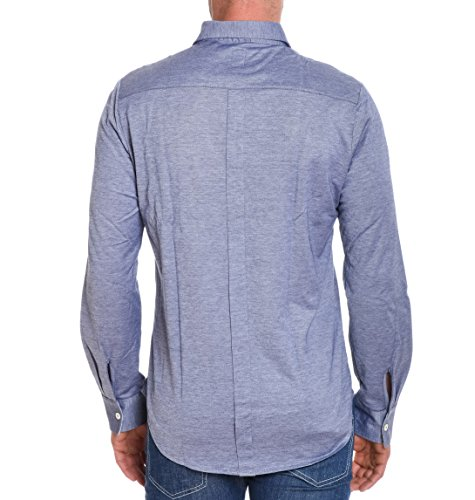 Eleventy Herren 979PO0025POL190168 Blau Baumwolle Hemd