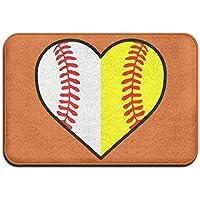 Baseball Softball Antislip Outdoor Floor Mat Kitchen Mat