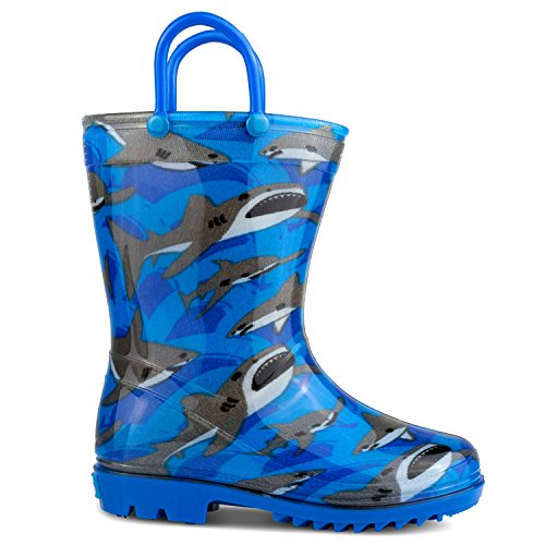 Picture of ZOOGS Children's Rain Boots Handles, Little Kids & Toddlers, Boys & Girls