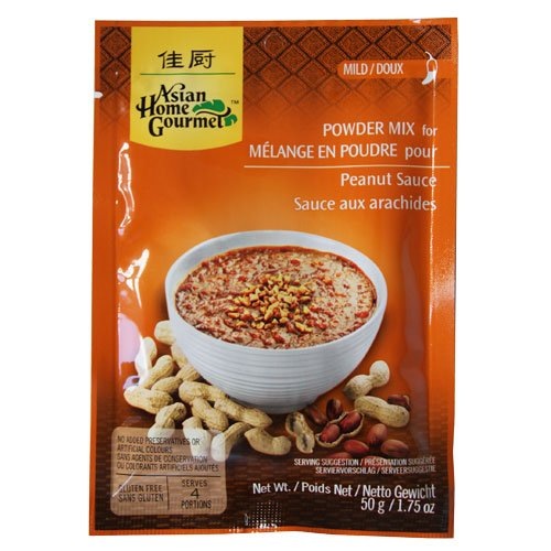 indonesian peanut sauce - 1
