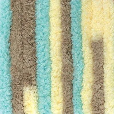 Bernat Baby Blanket Yarn - (6) Super Bulky Gauge - 10 5 oz - Beach Babe -  Single Ball Machine Wash & Dry
