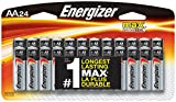 #5: Energizer AA Batteries, Double A Battery Max Alkaline (24 Count) E91BP-24