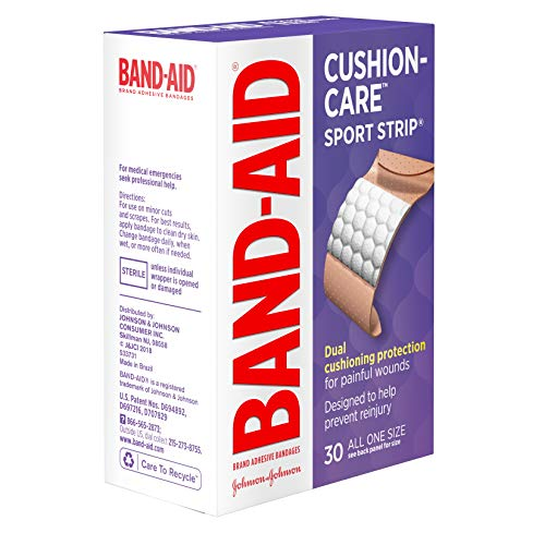Special pack of 6 BAND-AID SPORT STRIP EXTRA WIDE 30 per pack