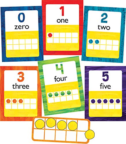 World of Eric CarleTM Numbers 0-20 Bulletin Board - Bulletin Board Numbers