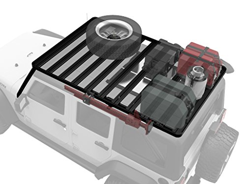 Jeep Wrangler JKU 5 Door Unlimited Roof Rack / Full Size Aluminum Off-Road Slimline II Cargo Carrier - by Front Runner