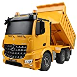 Best Rc Toys - Hugine RC Dump Truck Authorized by Mercedes-Benz Arocs Review