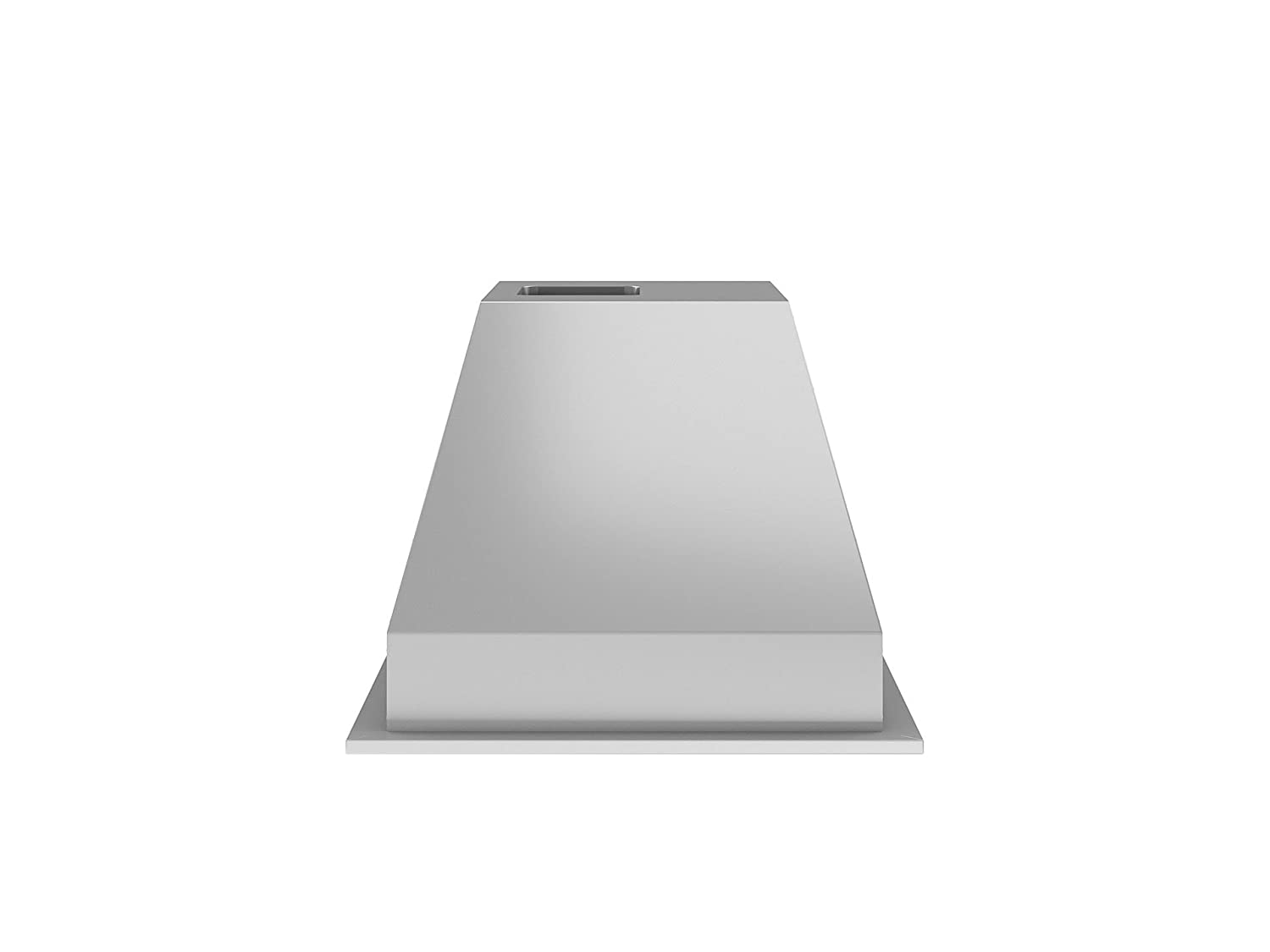 Silver Ancona AN-1311 Chef Series Built-in 28 Ducted 600 CFM Insert Range Hood with LED Lights