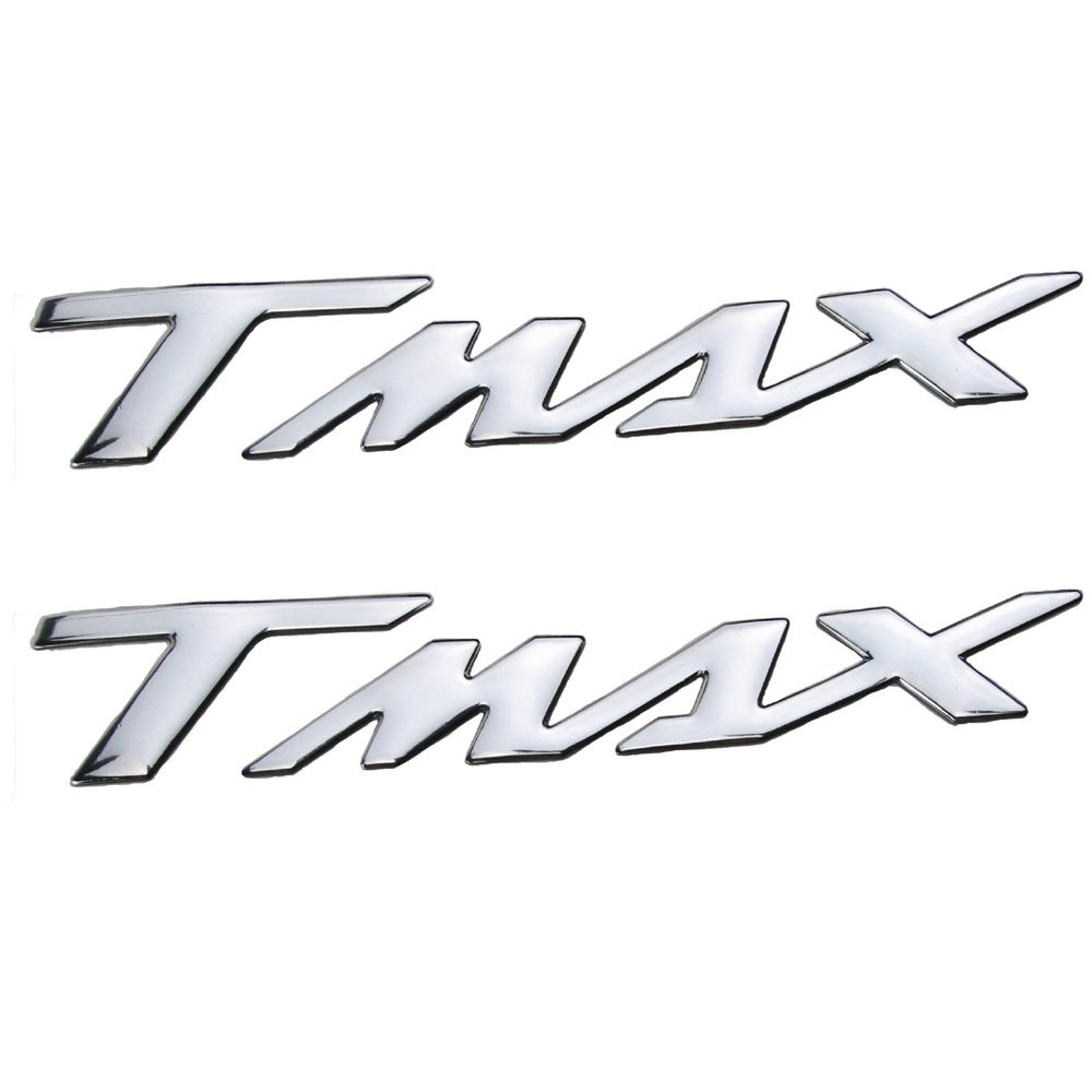 For yamaha TMAX 530 500 T-MAX 530 T-MAX 500 T MAX 530 Motorcycle Tank Pad Protector Decal Skull Sticker Motorbike Tank Sticker Silver