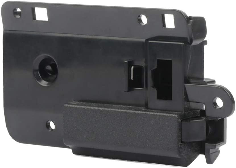 ZENITHIKE Black Door Handle Glove Box Latch Handle Side for Select 2007-2013 Chevrolet Silverado GMC Sierra 1500 2500HD 3500HD