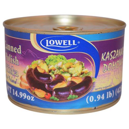 Lowell Foods Canned Polish Kiska 425g (Pack of 3)