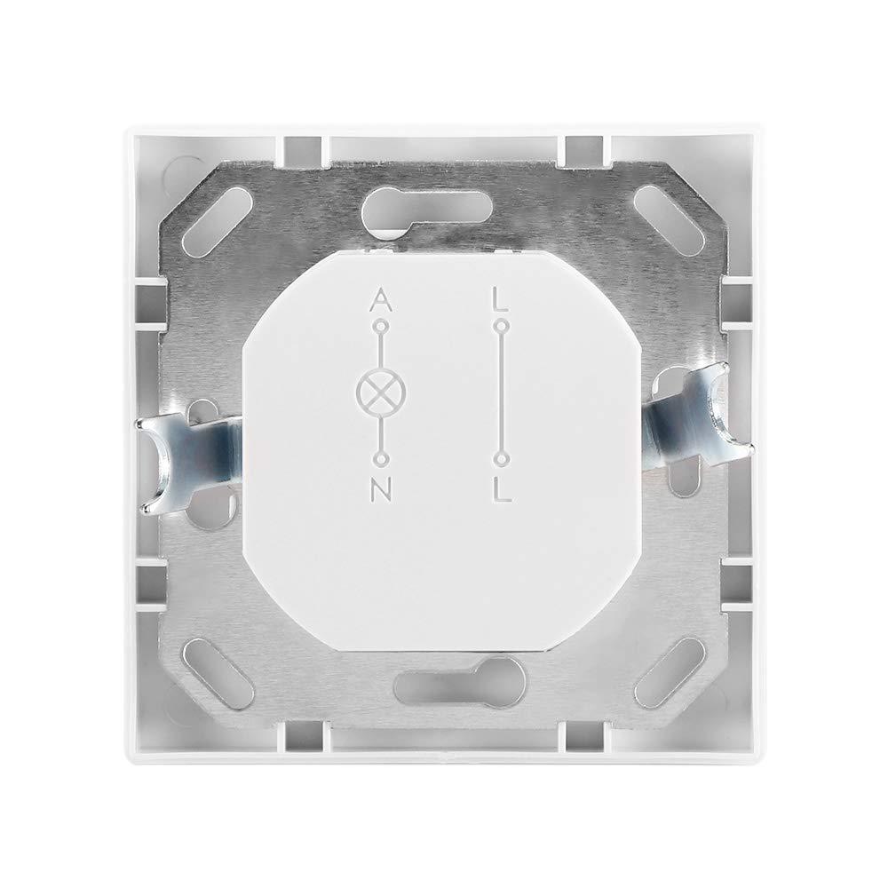 Prenine LED Luz Nocturna con Sensor De Movimiento PIR Interruptor De Luz De Seguridad Detector De Inducci/óN De Movimiento por Infrarrojos IR con Interruptor Encendido//Apagado//PIR 1 Paquete