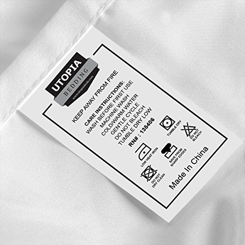 Utopia Bedding comfortable applied Microfiber list Pillowcase Sets