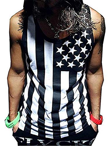 Men's American Apparel Workout Casual Tank Top Black US,XL/Asia,2XL