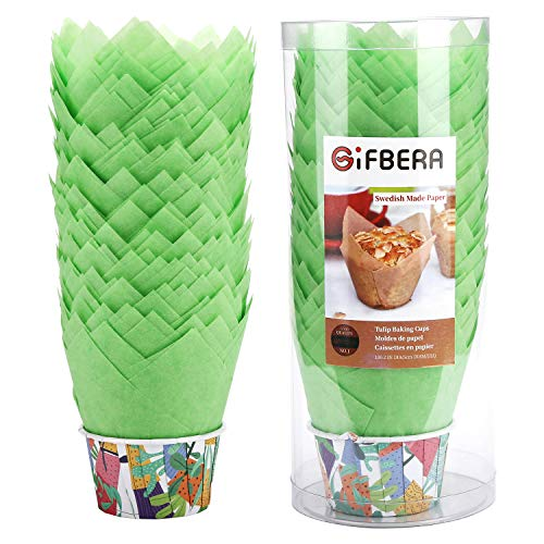 Gifbera Cupcake Liners Swedish 100 Count