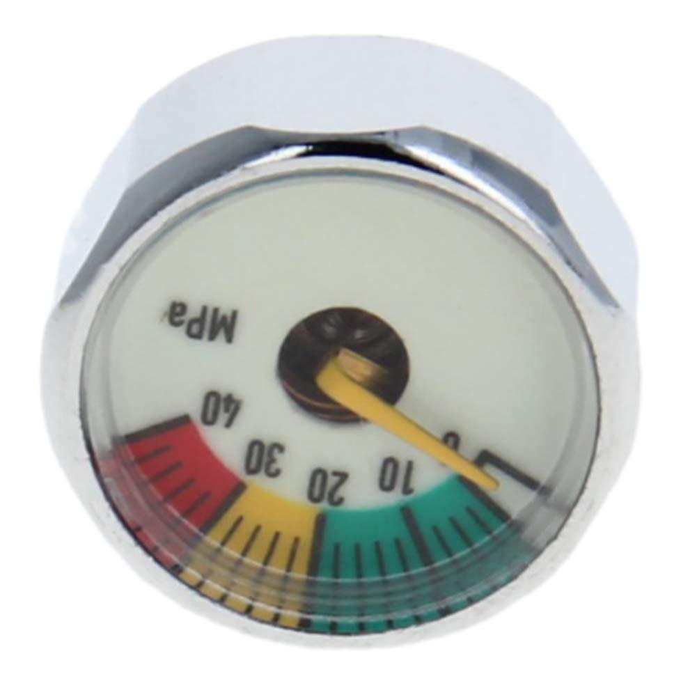 Othmro Pressure Gauge 10MPA M10x1 Pony Bottle Pressure Gauge Ideal for Scuba Diving 5PCS