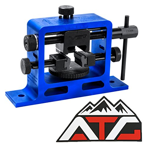 ATG Patch and Heavy Duty Universal Pistol Dovetailed Rear Sight Pusher Tool (Best Sight Pusher Tool)