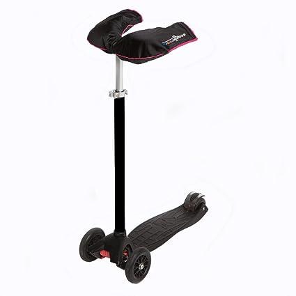 Scooterearz calentadores de manos negro y rosa para scooters ...