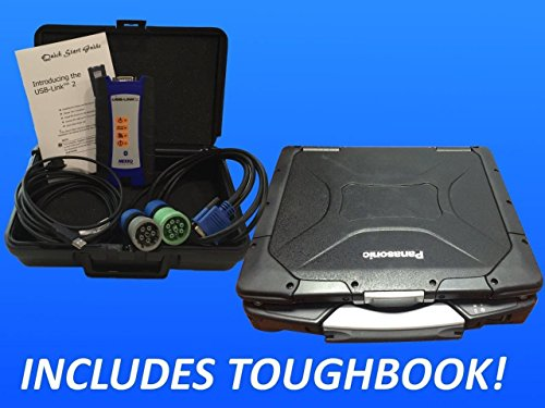 Diesel Laptops Nexiq USB Link 2 with CF30 Panasonic Toughbook