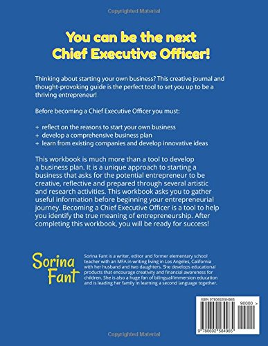 Become A Chief Executive Officer A Thoughtprovoking Journal And  Become A Chief Executive Officer A Thoughtprovoking Journal And  Comprehensive Guide To Starting A Successful Business Sorina Fant