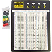 Solderless Breadboard RSR Model MB106 2390 tie points. 9.4 x 7.7. 4 binding posts