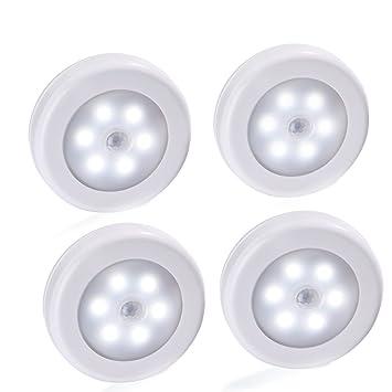 luckled motion sensor light battery powered led closet night light lighting for