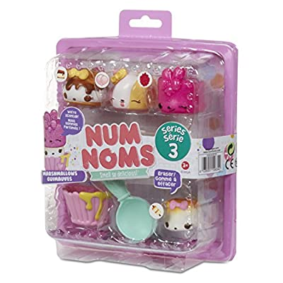 Num Noms Starter Pack Series 3- Marshmallows Toy: Toys & Games