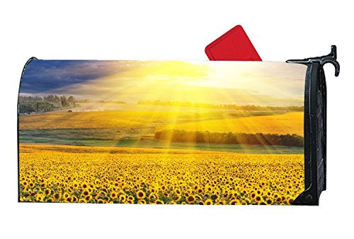 FunnyLife Personalized Mailbox Makover Cover Sunflower Under