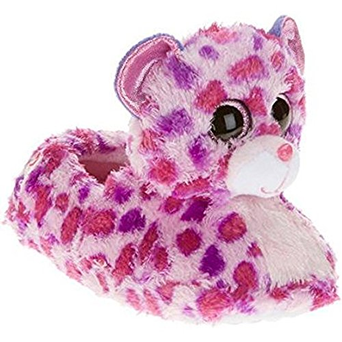 Beanie Boo Girls Slippers Glamour Kitty Pink Cat XXL - Kihei Stores