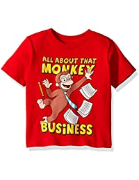 Toddler Boys' Monkey Business Short Sleeve T-Shirt