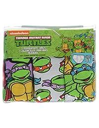 "TMNT Little Boys' Toddler ""Cartoon Faces"" 3-Pack Briefs"
