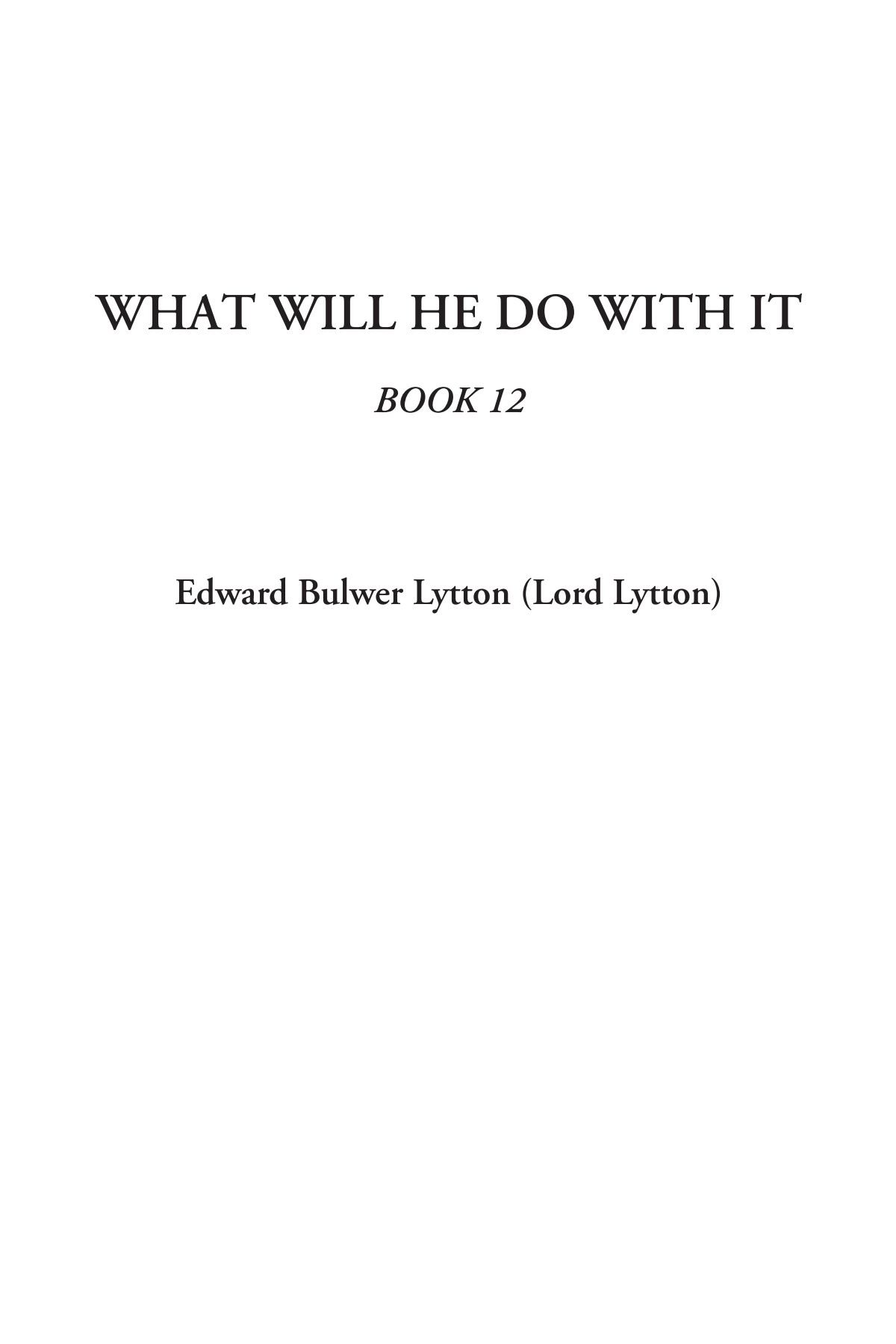 Download What Will He Do With It, Book 12 pdf